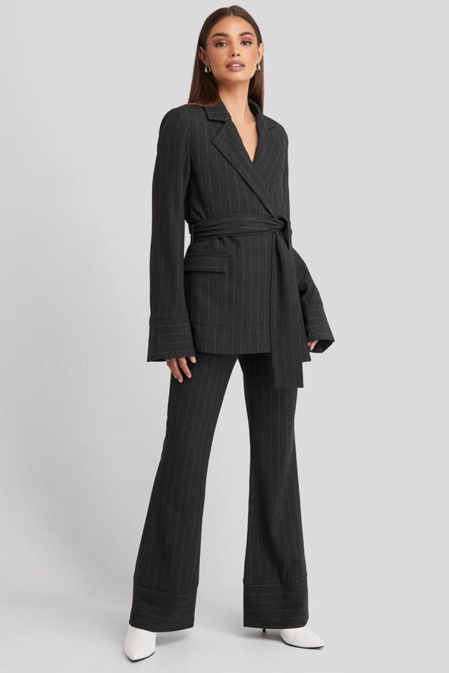 Hoss Striped Blazer Set