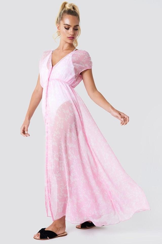 Kimono Beach Maxi Dress