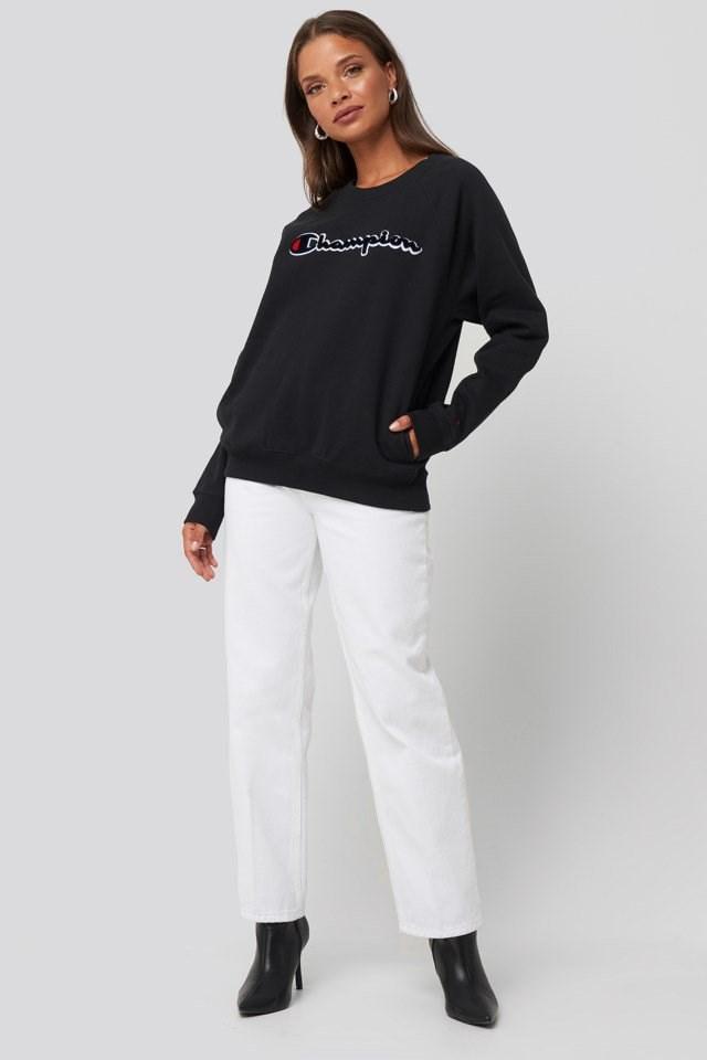 Crewneck Sweatshirt Outfit.