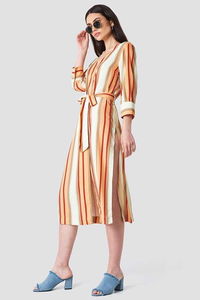 Belted Midi Dress Outfit