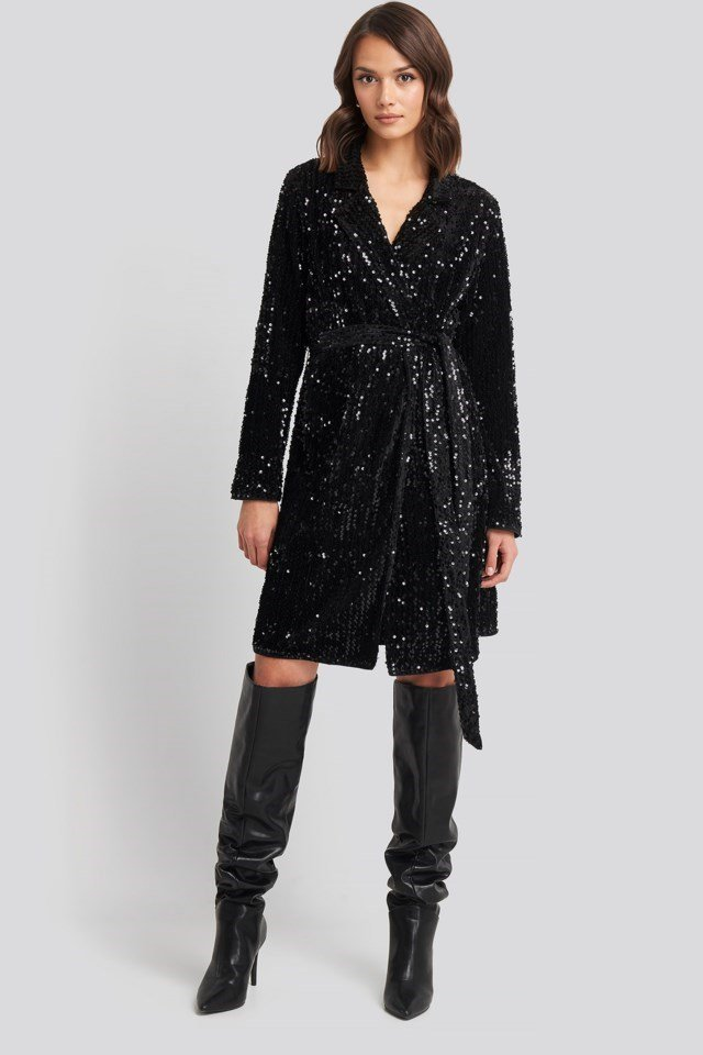 Nea Wrap Dress Look
