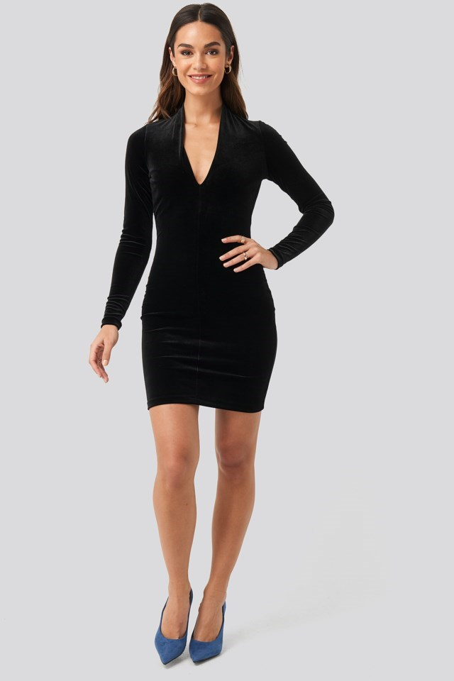 Vickivel Dress Black Outfit