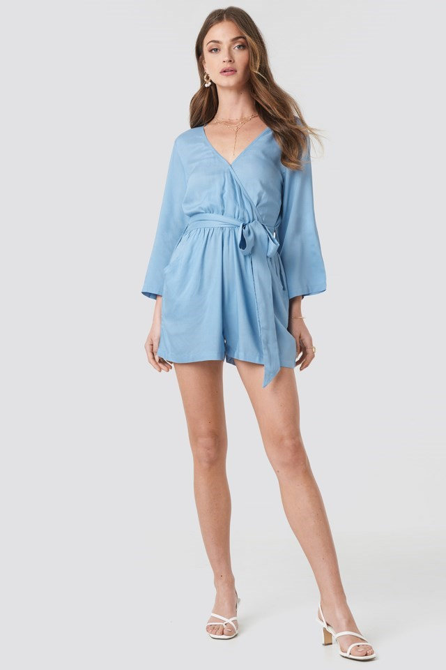 Wrap Playsuit Outfit