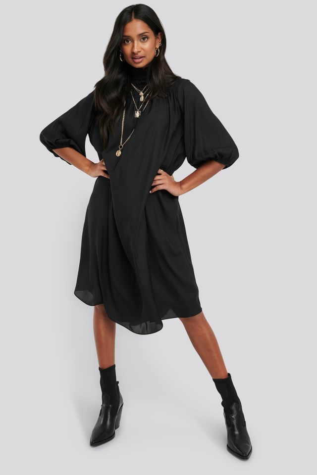 Smock Chest Dress Outfit.
