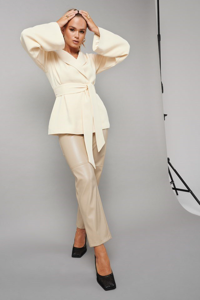 Kimono Blazer Outfit