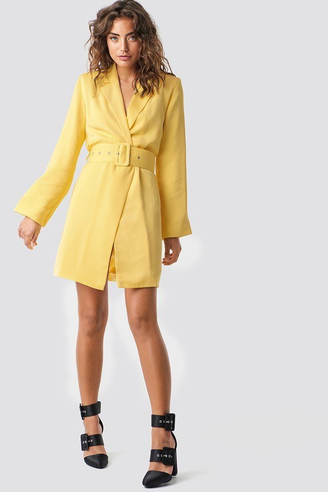 Tailored Blazer Dress