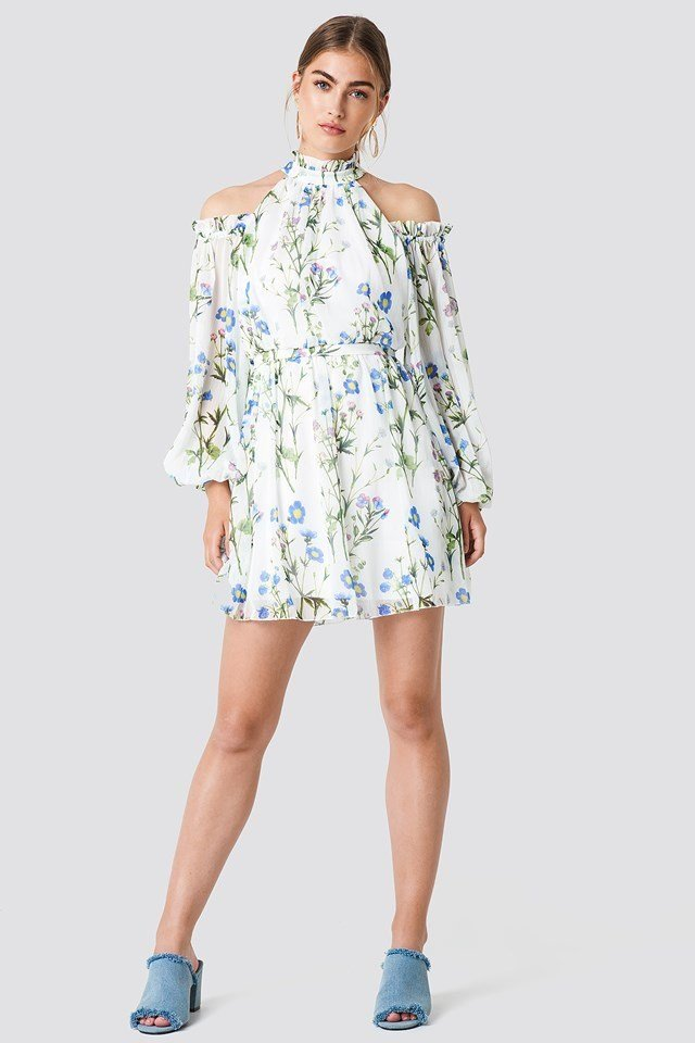 Floral Vacation Dress
