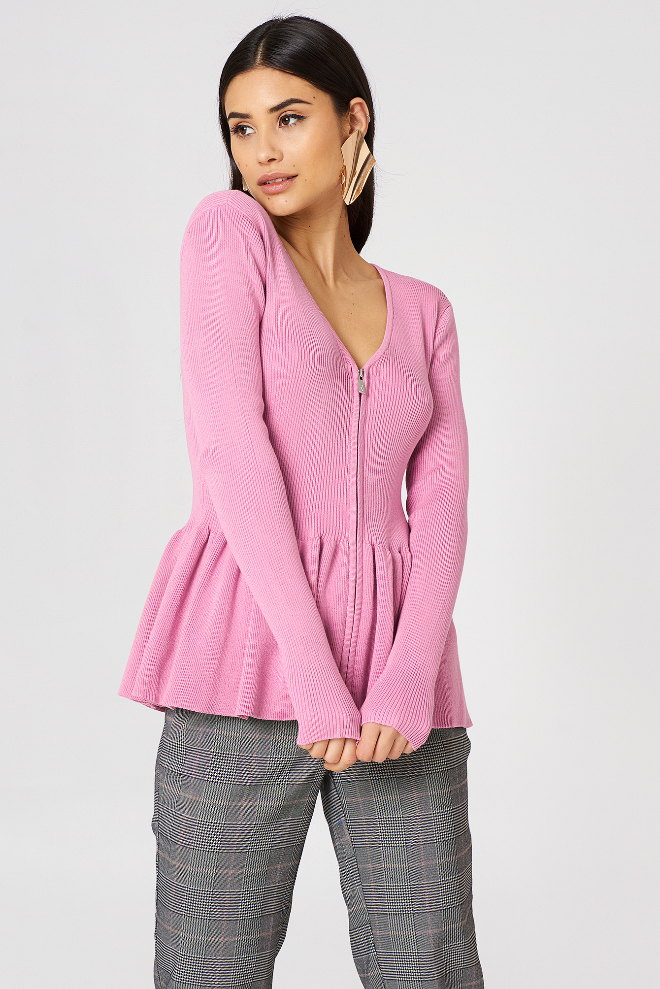 STORM & MARIE NAP FRILL KNIT - PINK