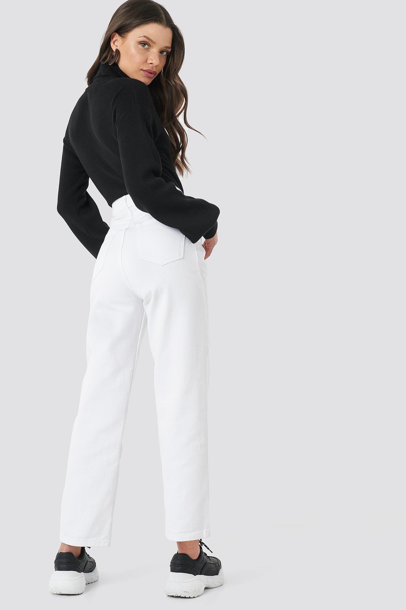 Straight Mom Jeans NA-KD.COM