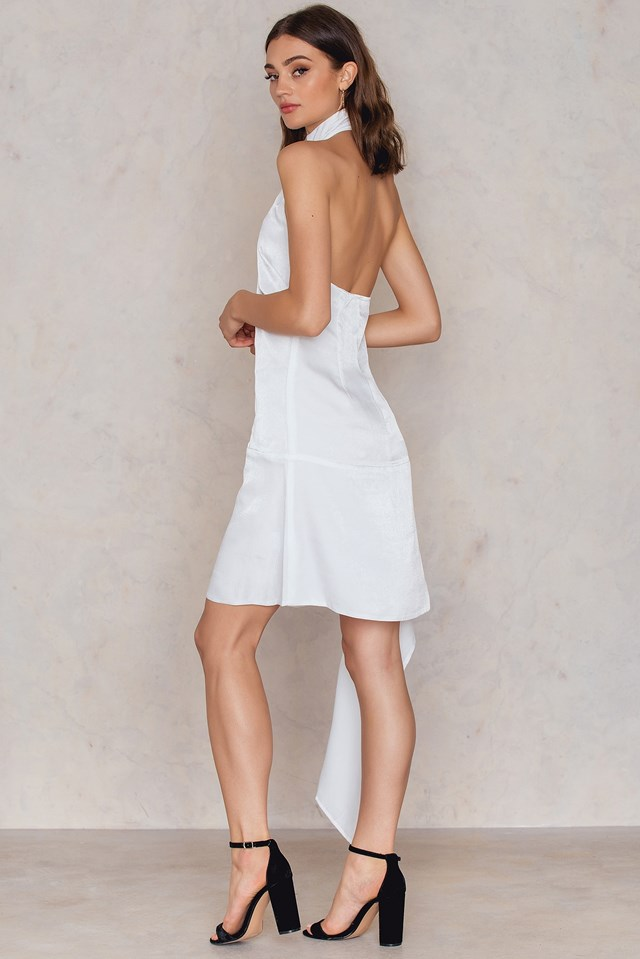Delta Shift Dress Blanc