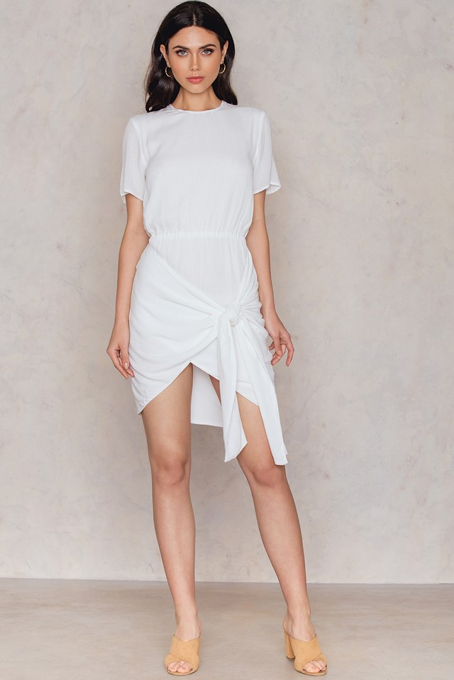 Florence Shirt Dress Blanc