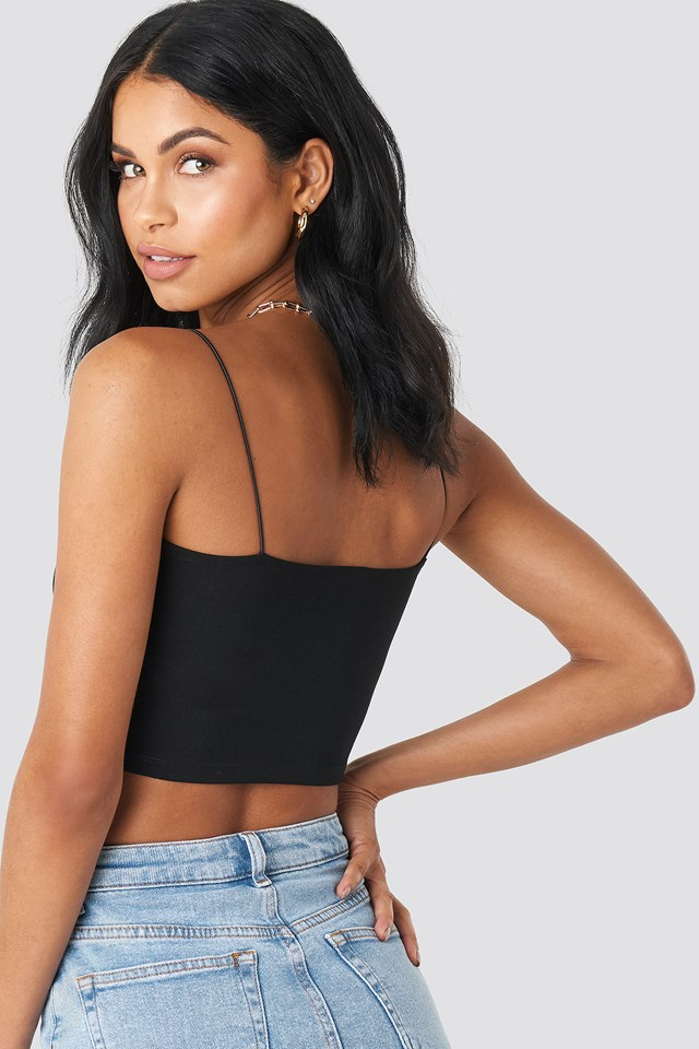 Bandeau Top Black