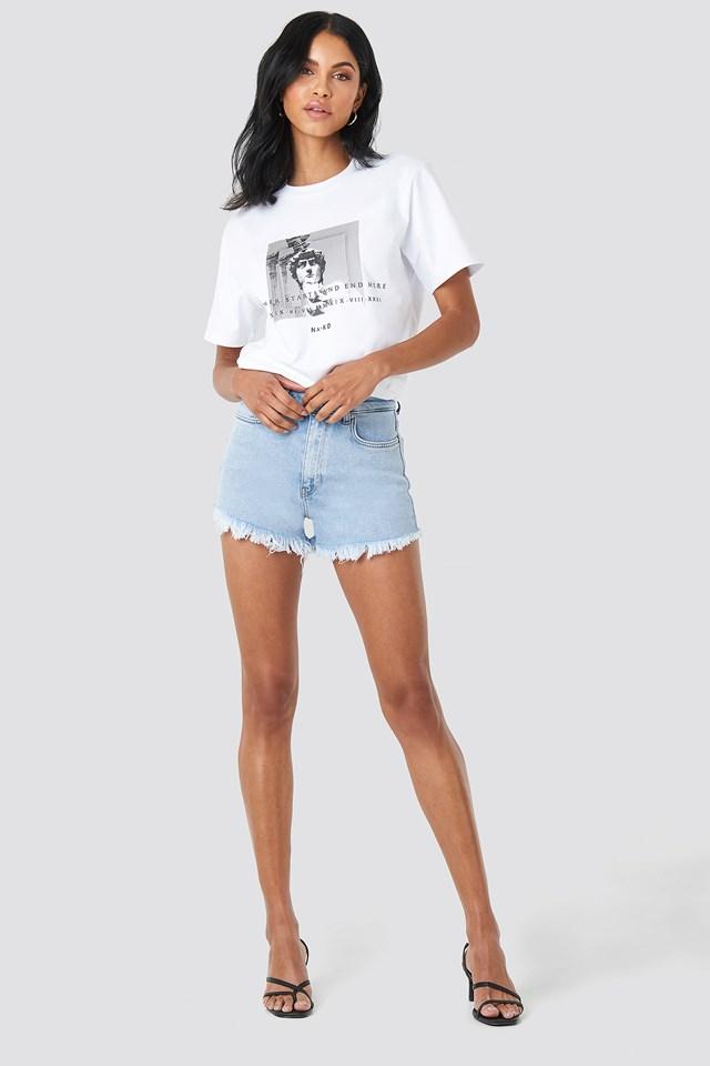 Denim Shorts NA-KD.COM