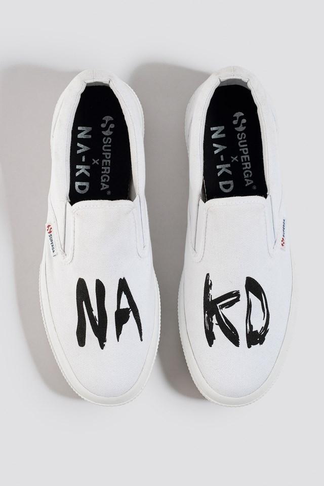 Branded Slip-On Sneaker NA-KD.COM