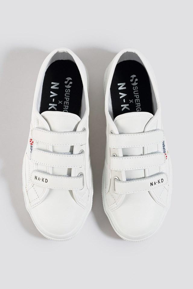 Velcro Sneaker White