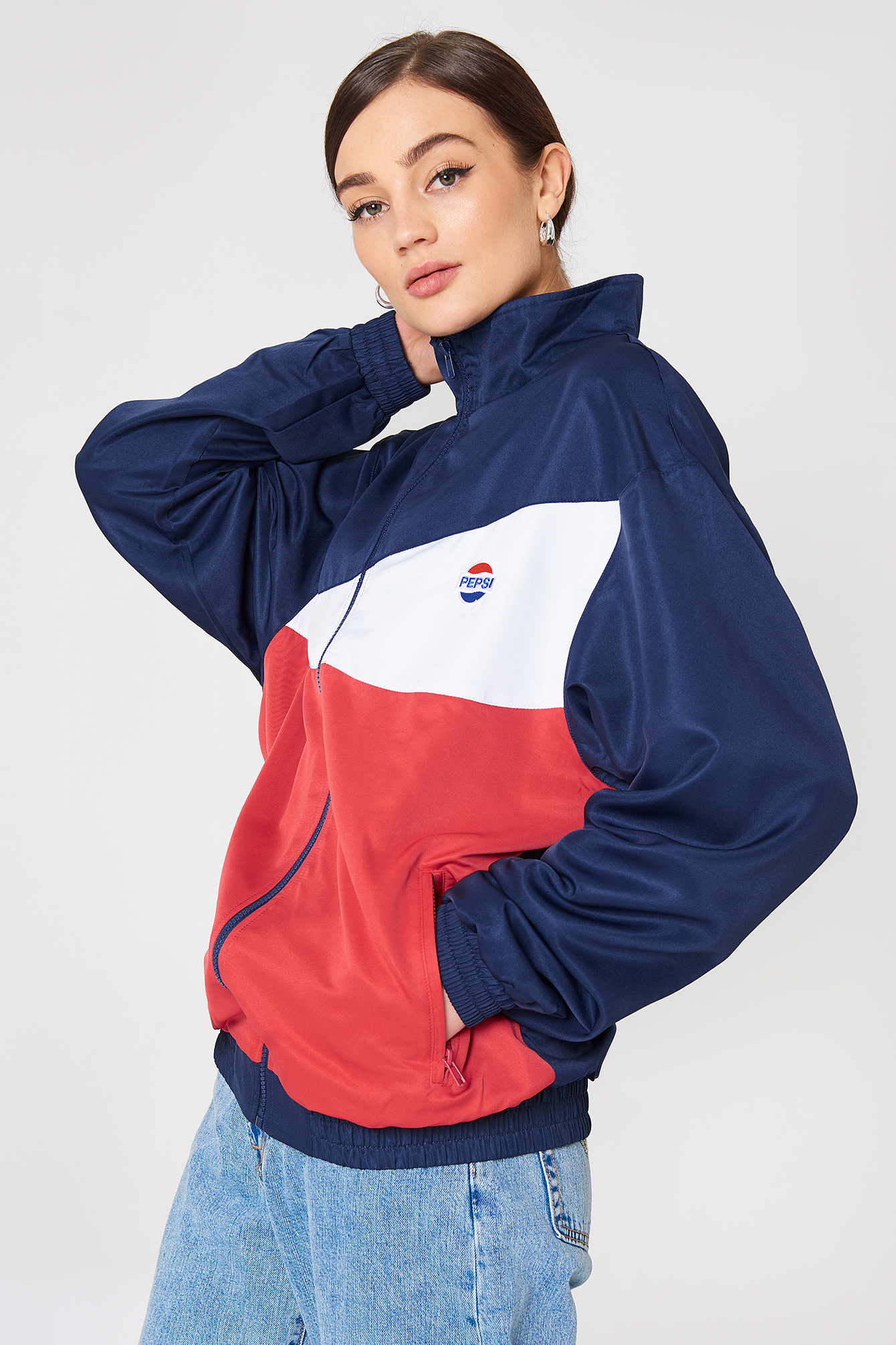 Sweet Pepsi Tennis Jacket NA-KD.COM