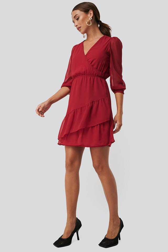 Flywheel Mini Dress Red
