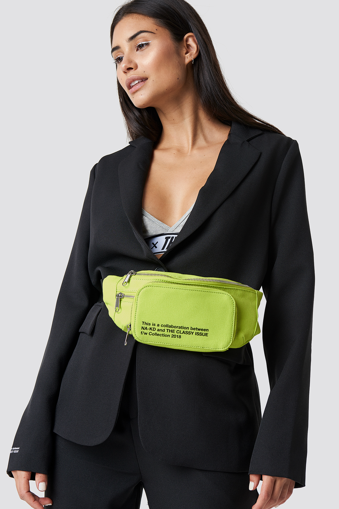the classy issue x na-kd -  The Classy Fanny Pack - Yellow
