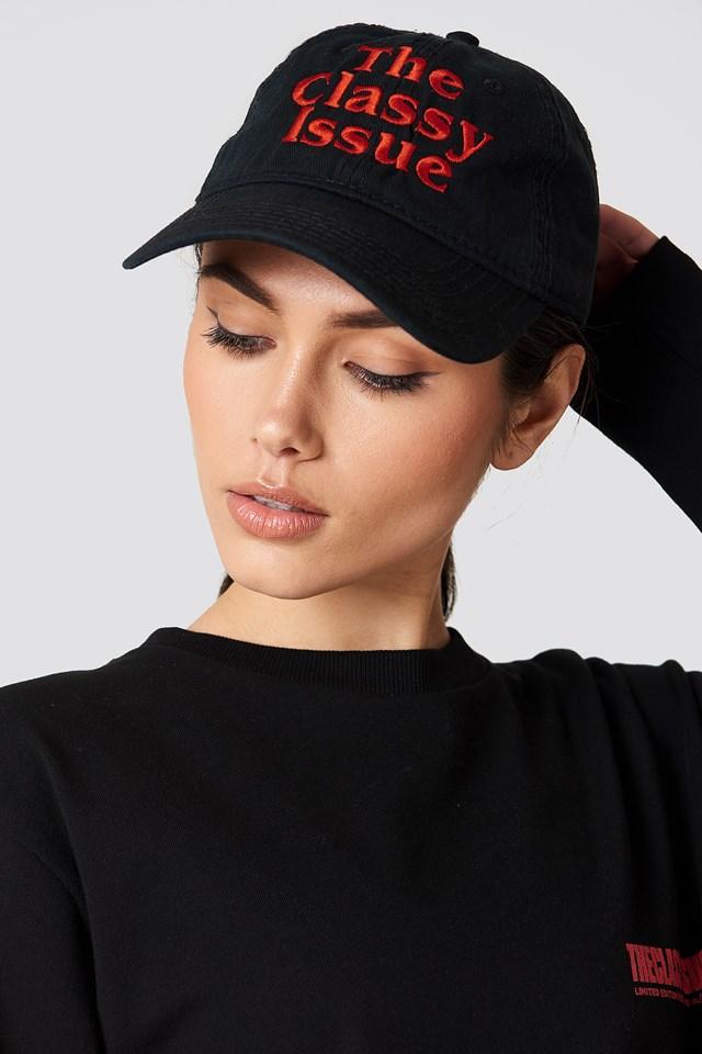 Classic Logo Dad Hat Black