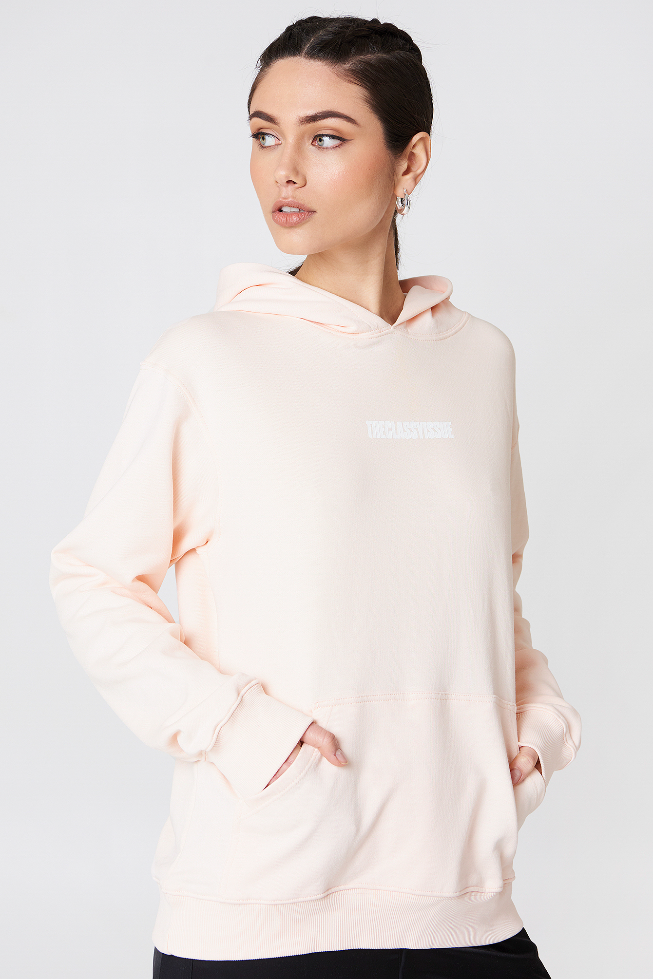the classy issue -  Miami Hoodie - Pink