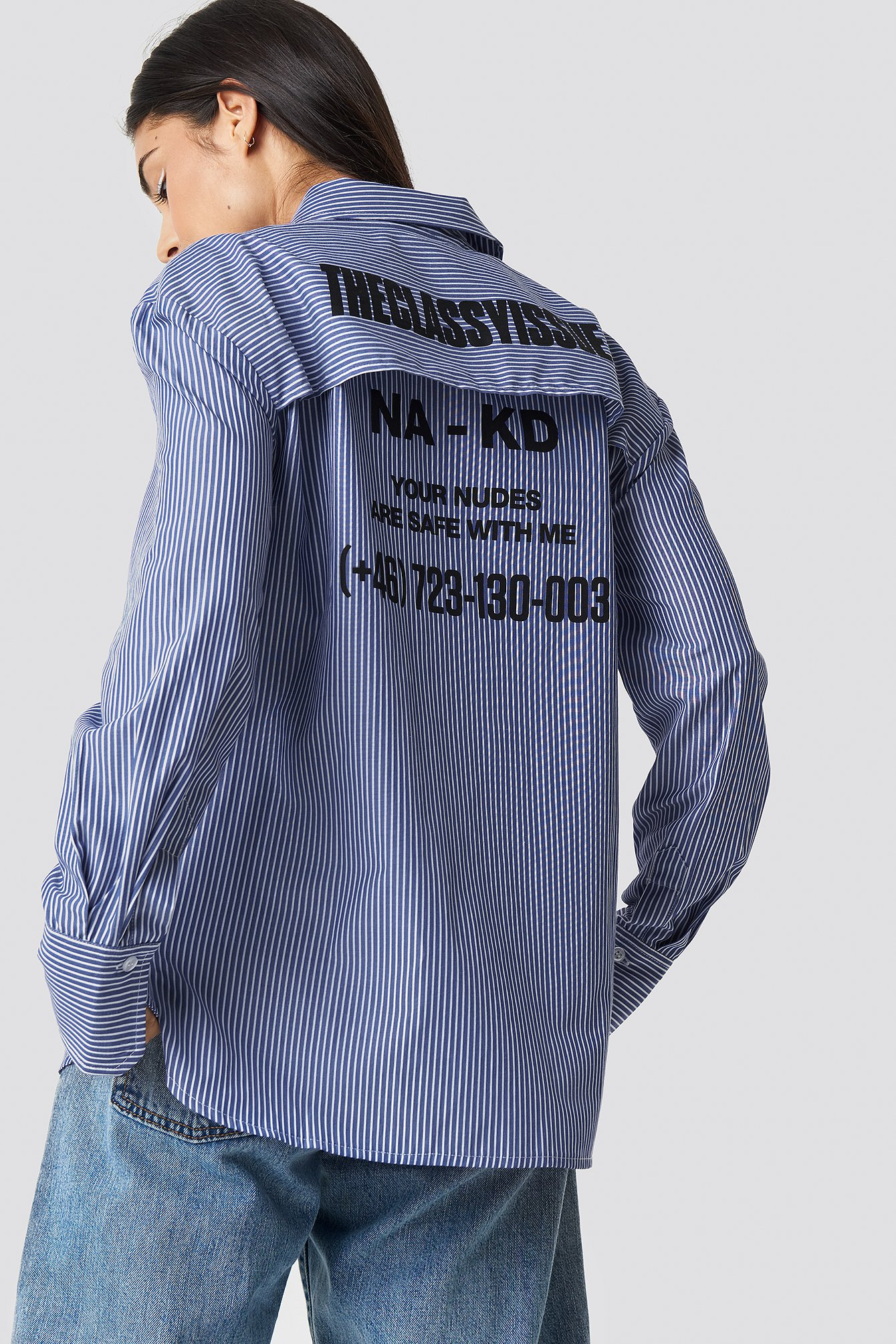 The Classy Safety Shirt NA-KD.COM