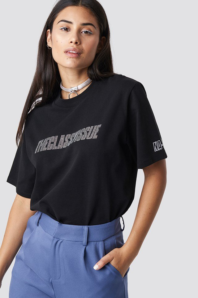 The Classy Sparkle Unsisex Tee Black