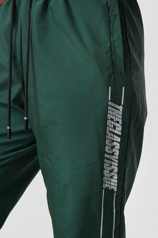 The Classy Track Pants Green