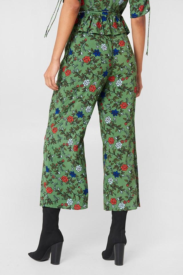 Assonance Pant Sage Floral