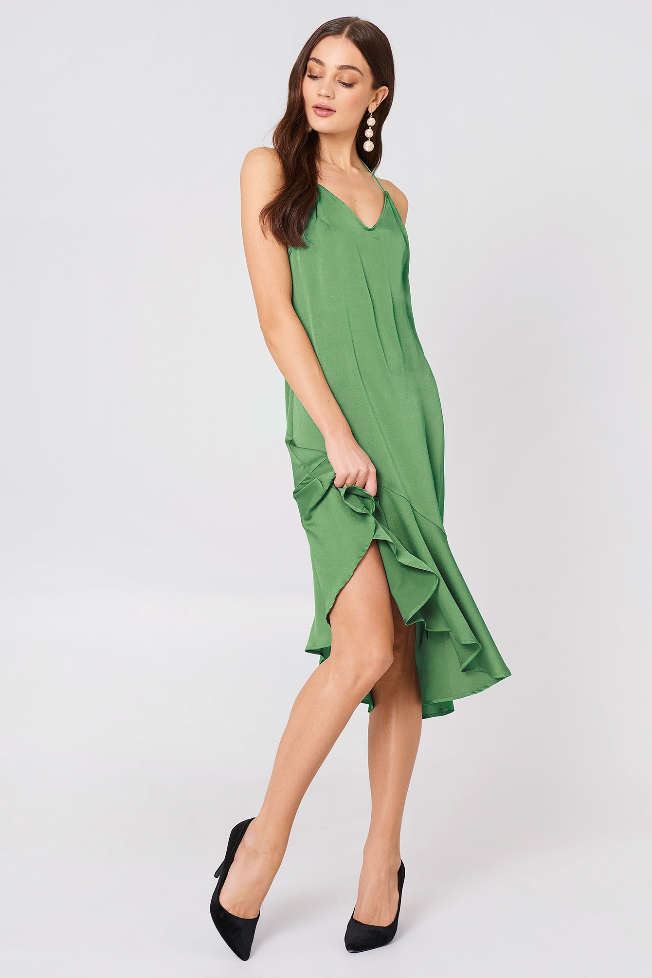 the fifth -  Journey Dress - Green