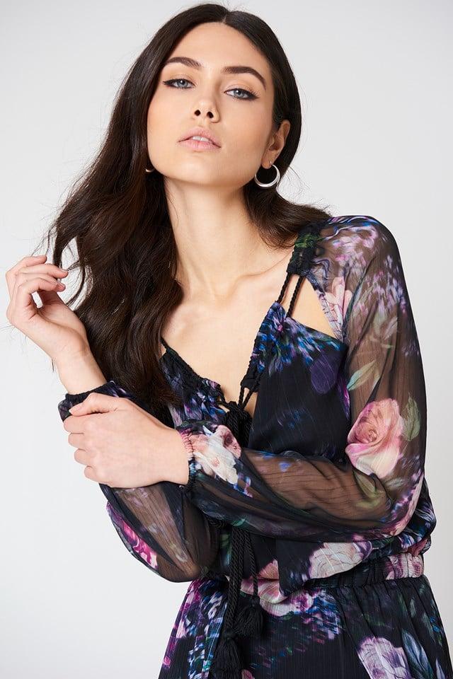 Peony Maxi Dress NA-KD.COM