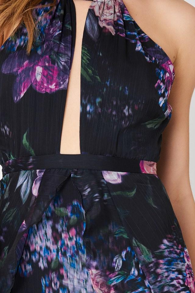 Peony Midi Dress Floral