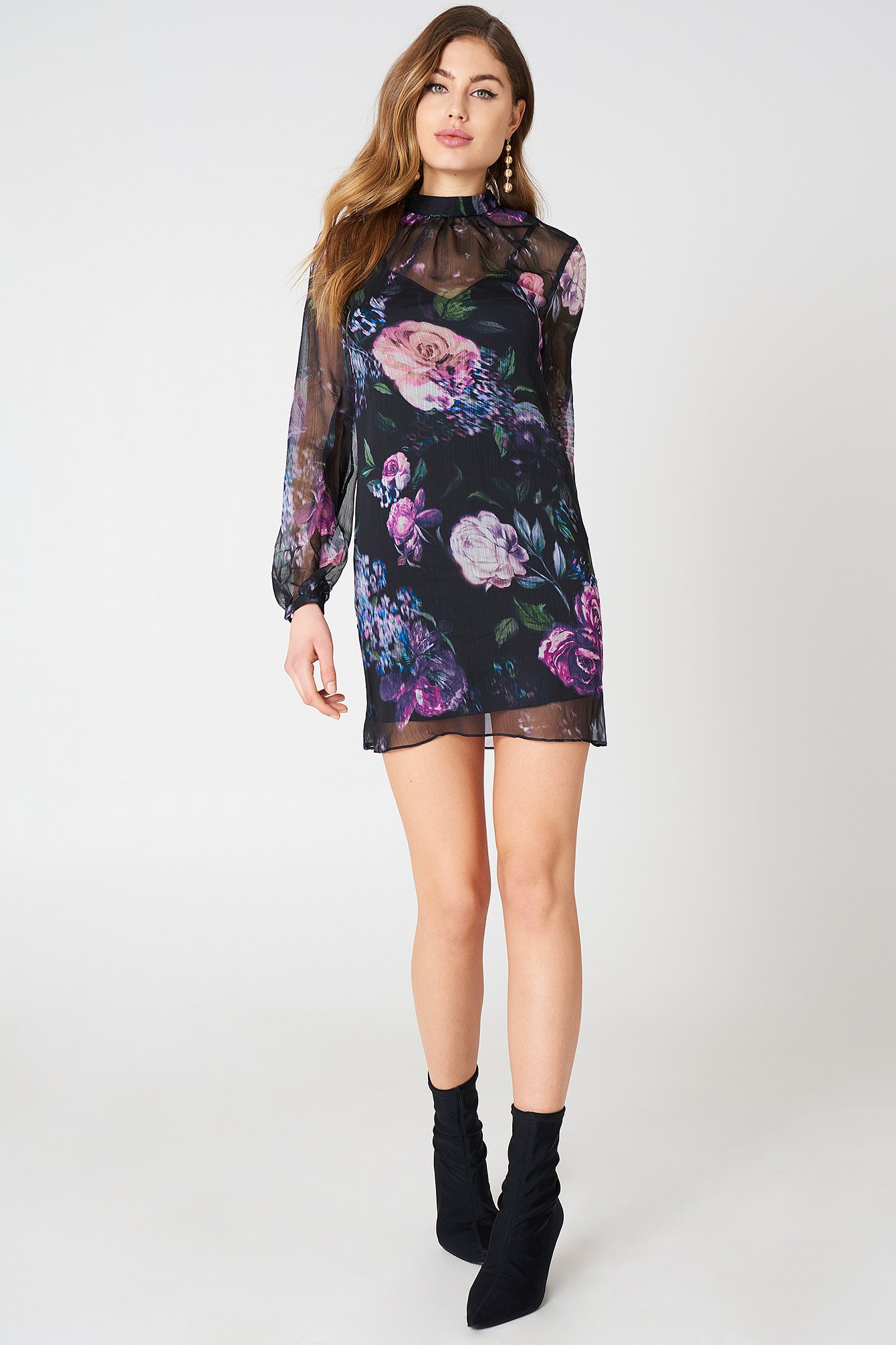 Peony Mini Dress NA-KD.COM