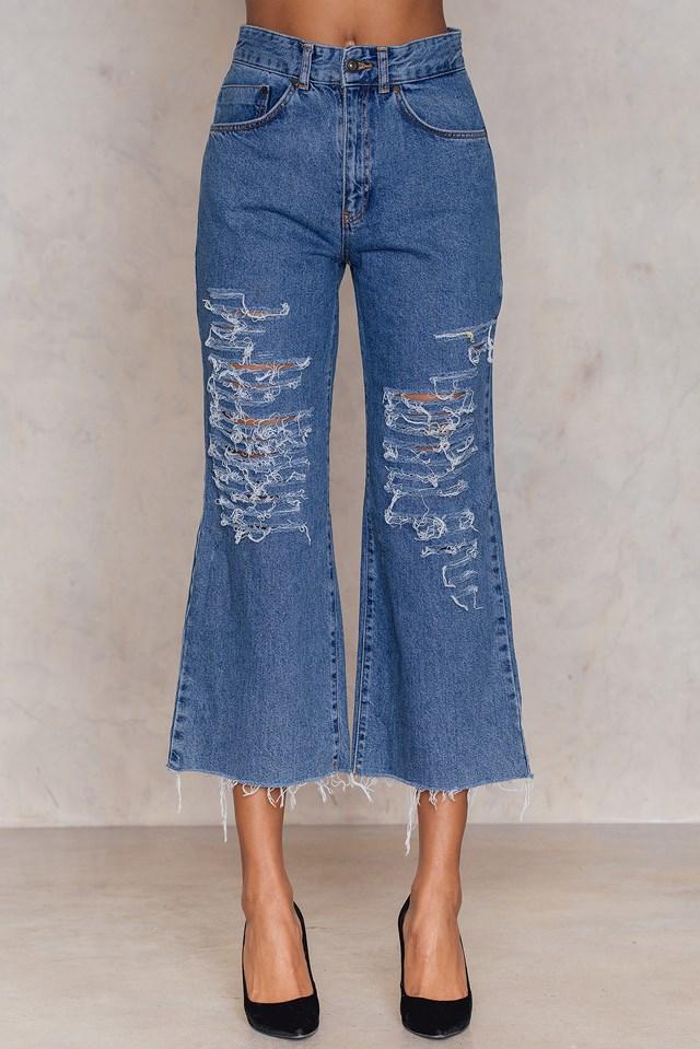 Slater Jeans Mid Blue
