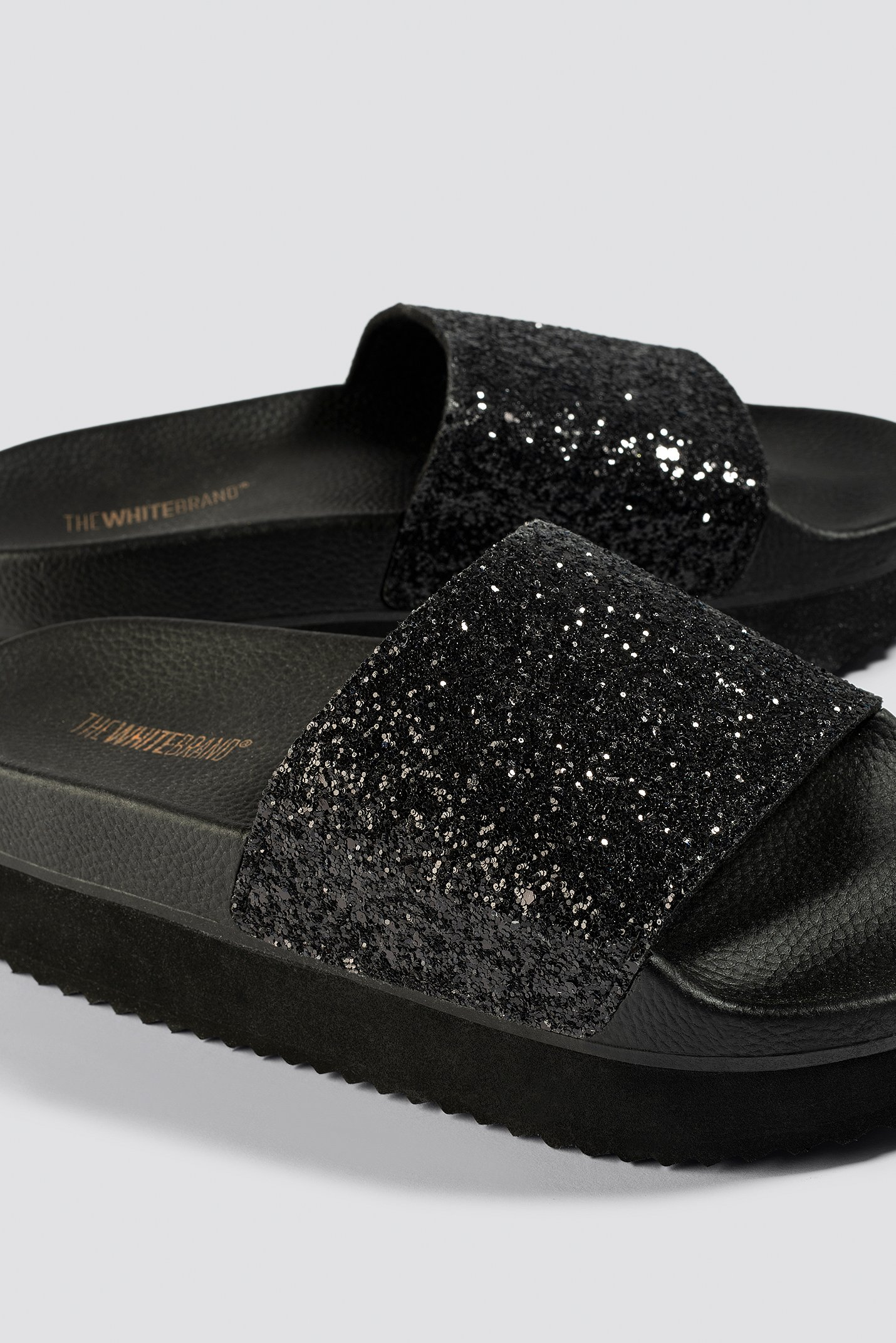 High Glitter Slippers NA-KD.COM