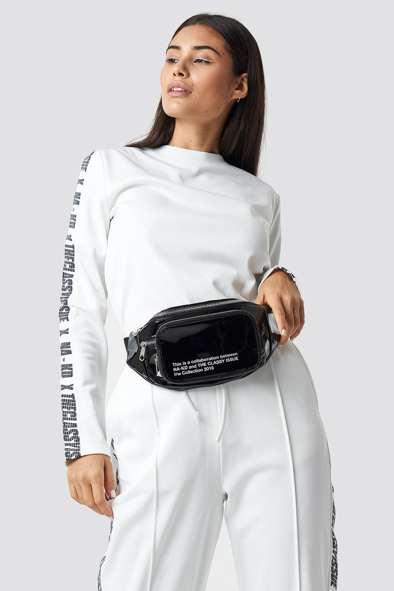 the classy issue x na-kd -  The Classy Fanny Pack - Black