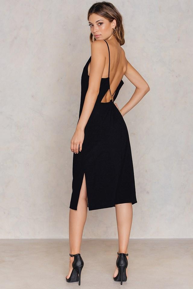 Donya Dress Night Black