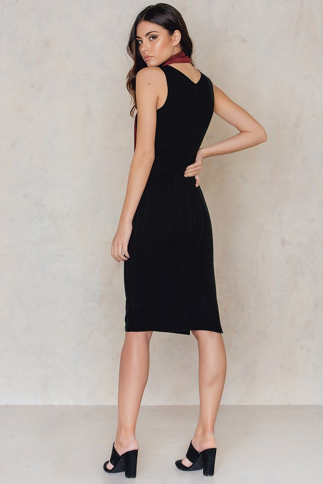 Tula Dress Night Black