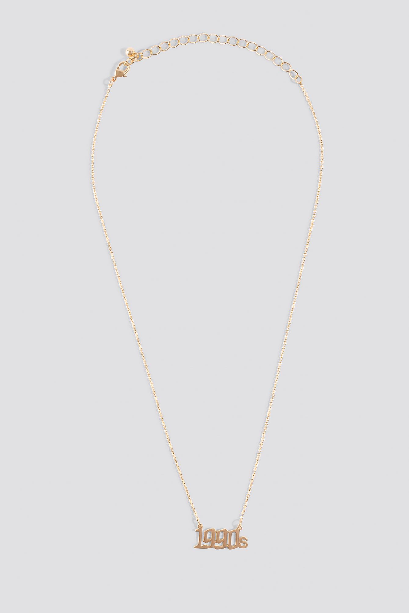 1990s  Necklace NA-KD.COM