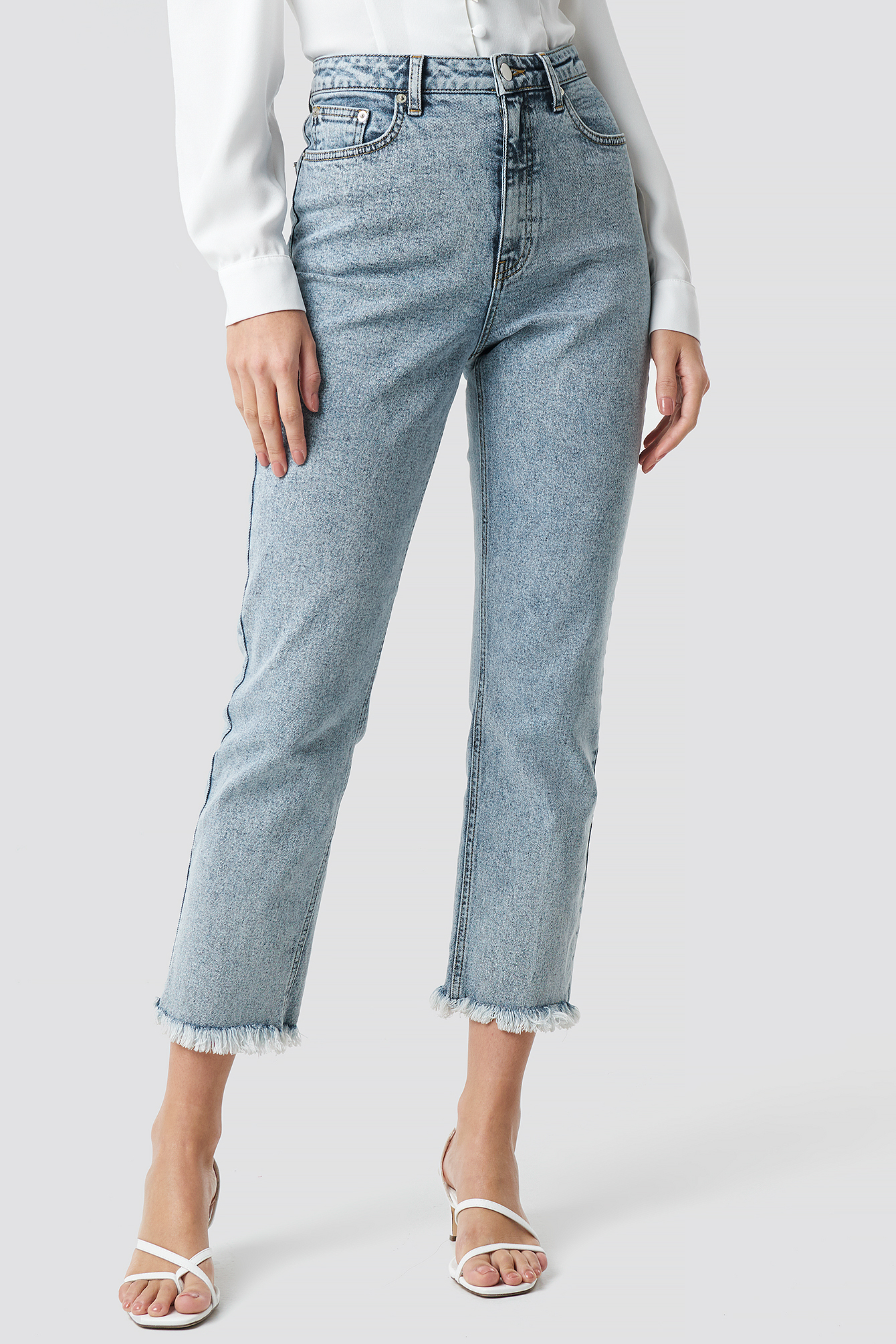 90's Babe Straight Jeans NA-KD.COM