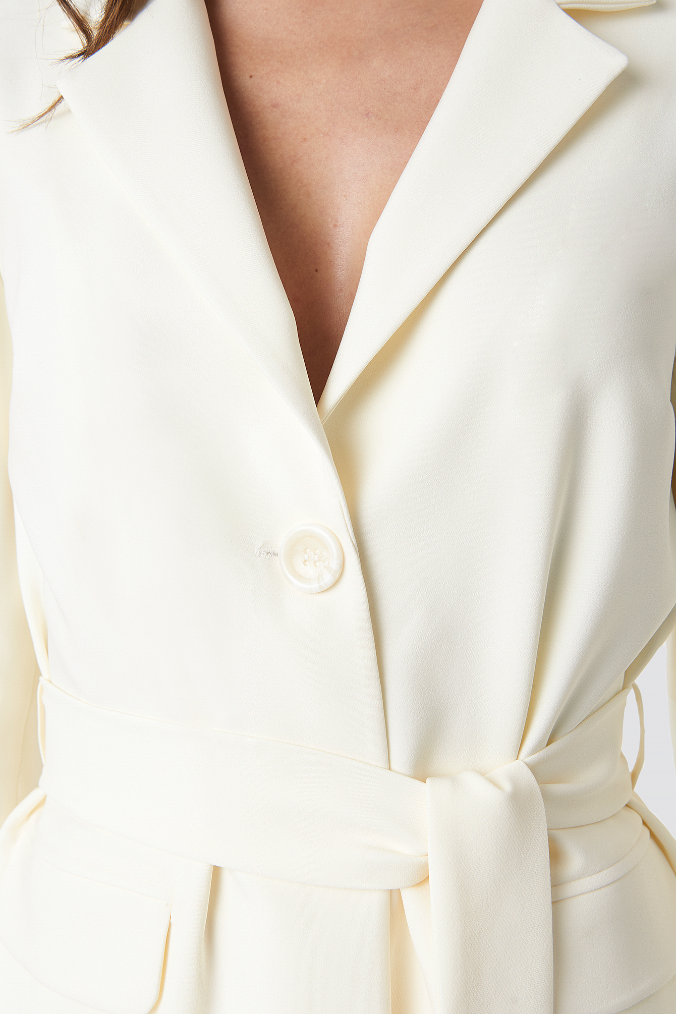 Front Tie Blazer NA-KD.COM