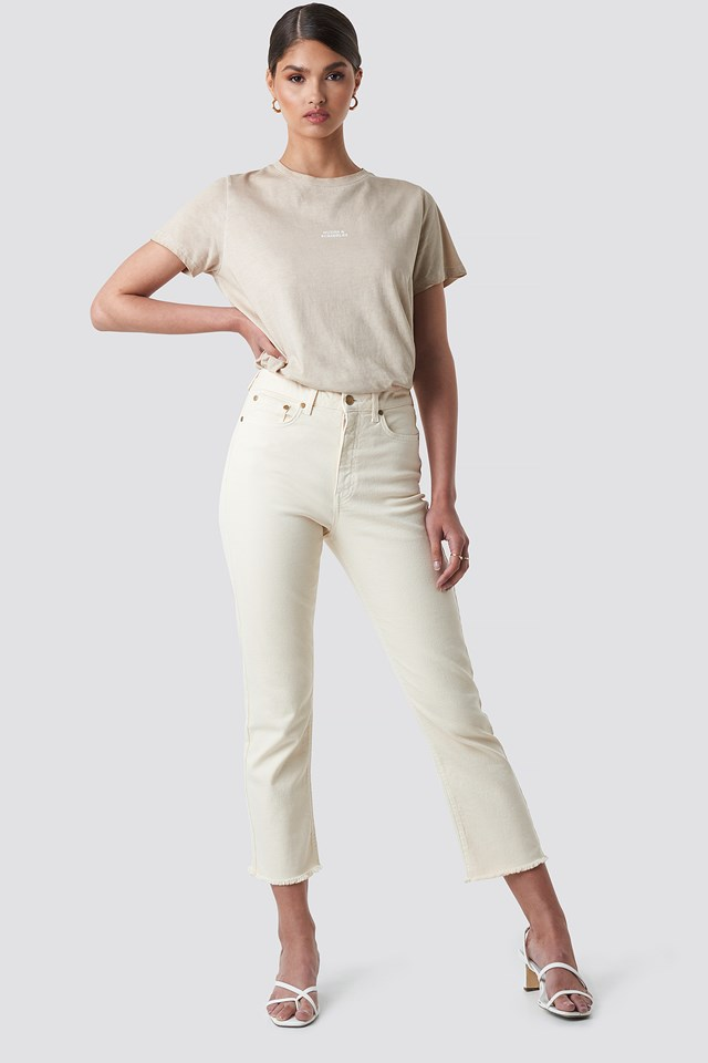 Highwaisted Straight Jeans NA-KD.COM