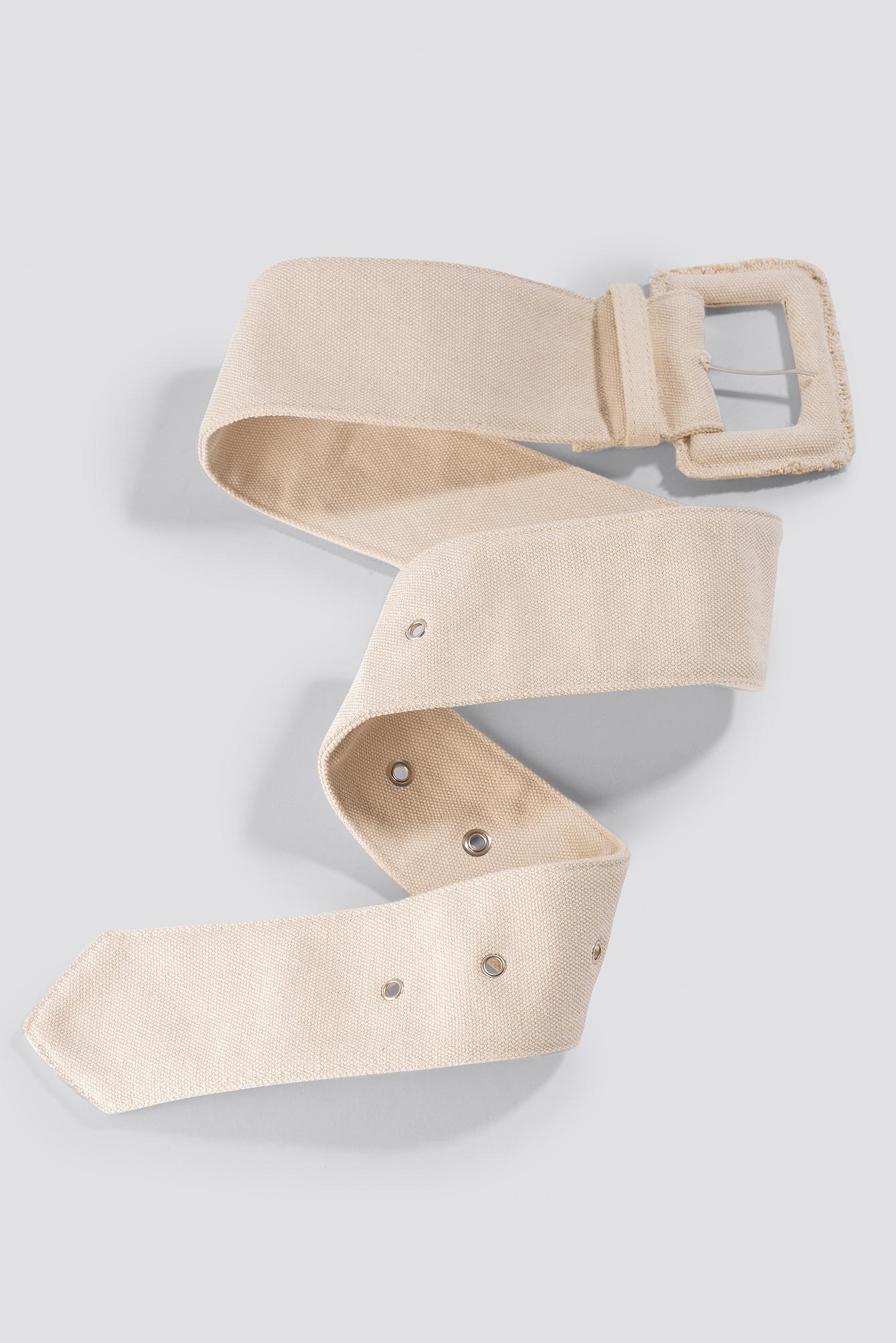 Raw Edge Thick Belt NA-KD.COM