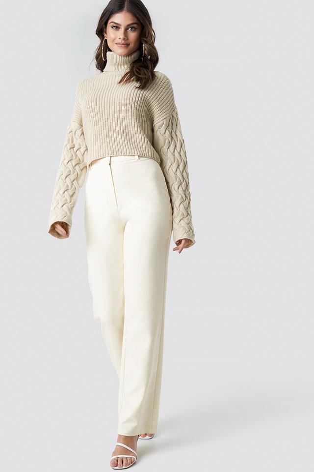 Wide Leg Suit Pants NA-KD.COM