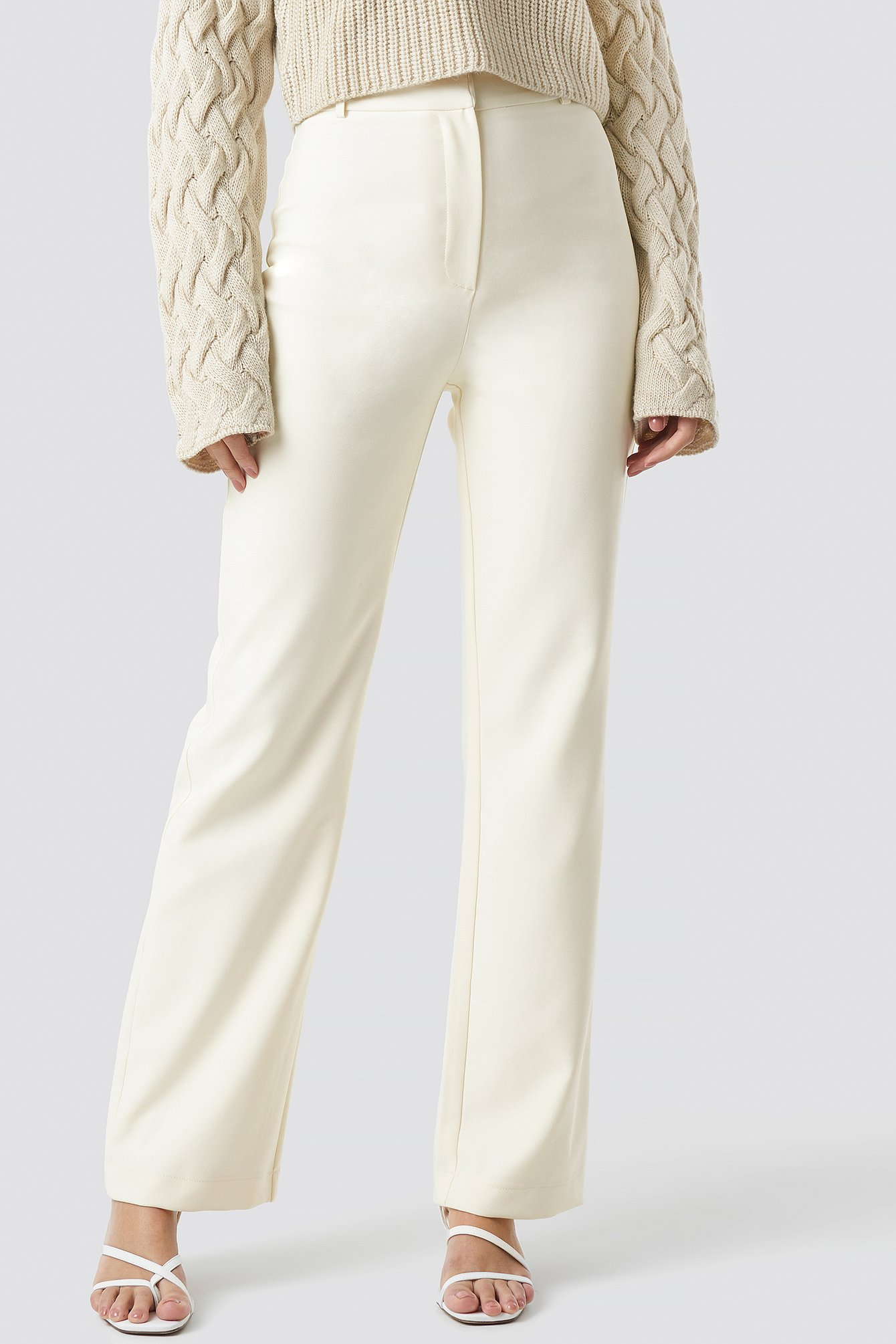 Wide Leg Suit Pants NA-KD.COM