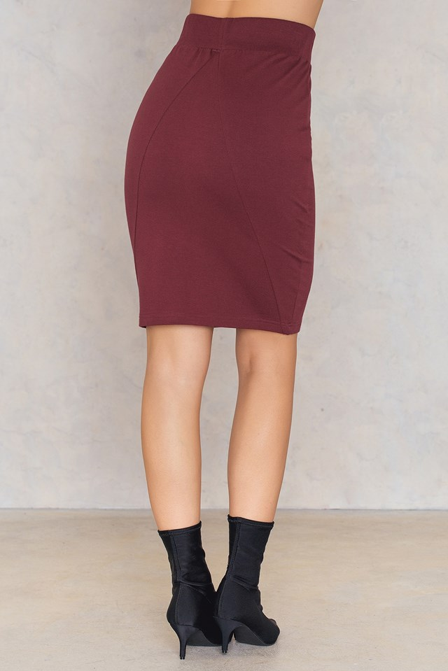 Tova Skirt Wine
