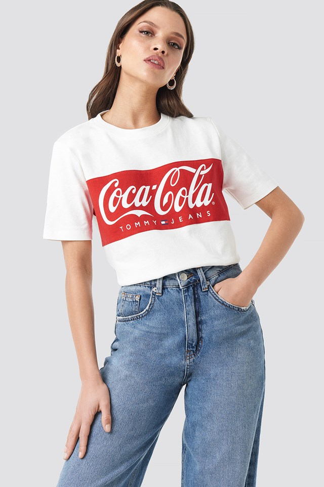 Tommy x Coca Cola Tee Tommy Jeans