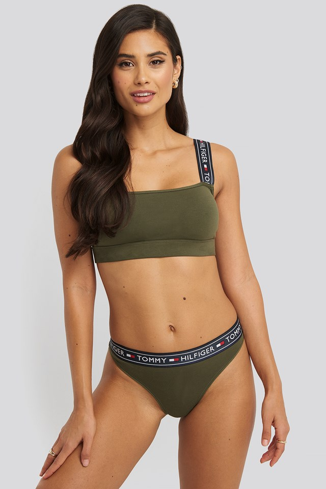 Brazilian Cotton Panties Olive Night