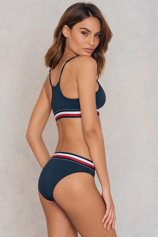 Bralette Navy Blazer
