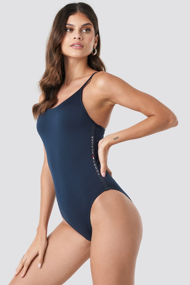 Cheeky One-Piece Navy Blazer