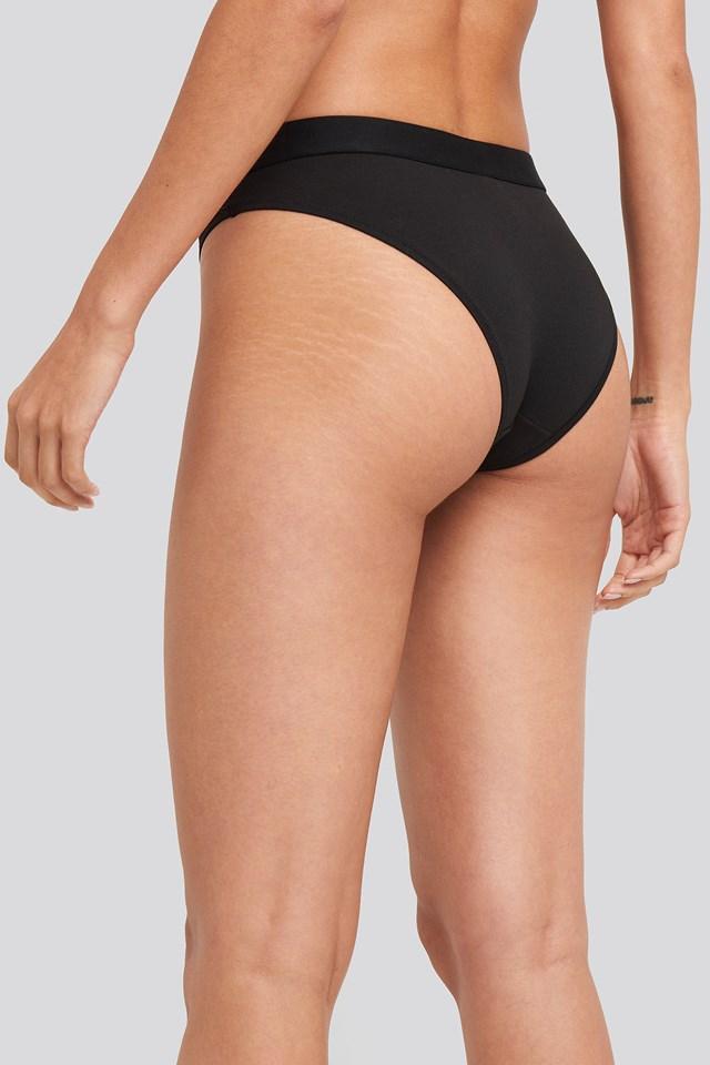 Cotton Coordinate Bikini Black